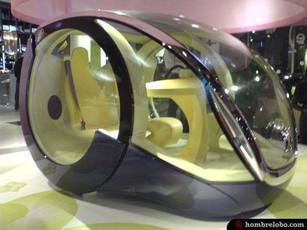 El coche huevo de peugeot for Coche huevo