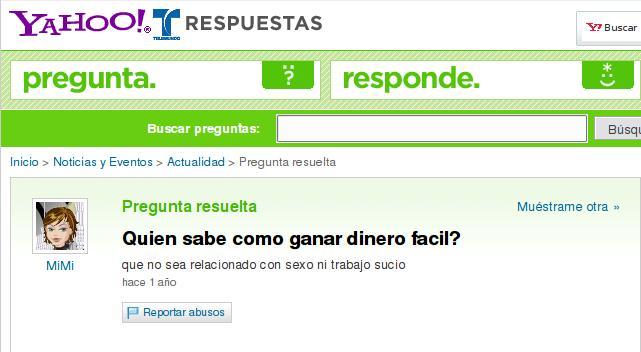 Ganar Dinero Rapido Facil Yahoo Argentina Respuestas Pictures