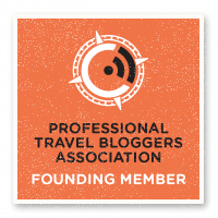 Professional Travel Bloggers Association Founder Member