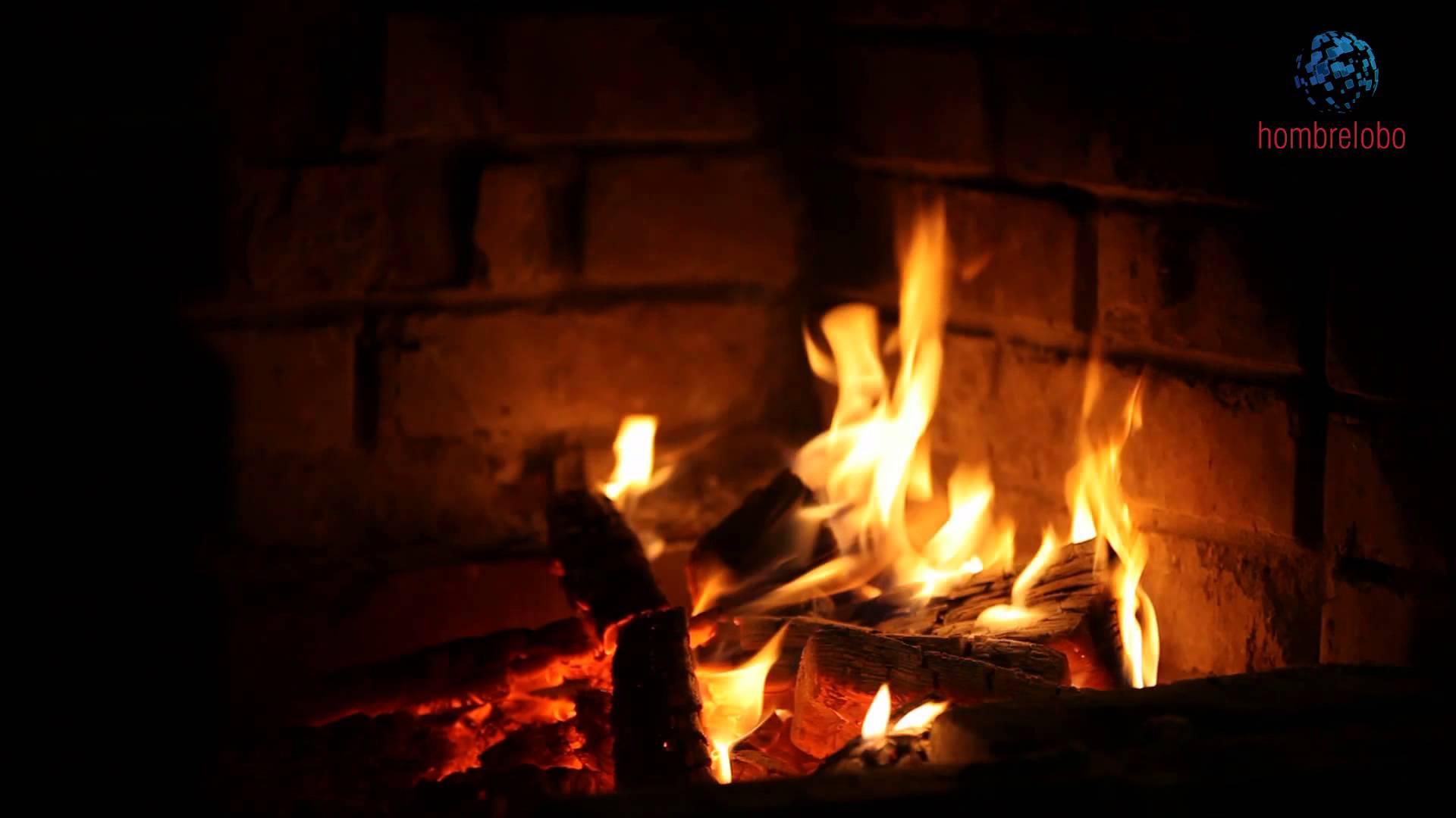 Fuego en la chimenea y unos villancicos - Fuego decorativo para chimeneas ...