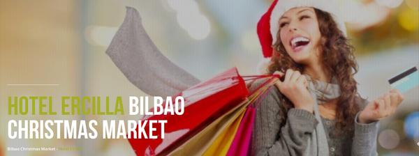 Bilbao Christmas Market en el Hotel Ercilla